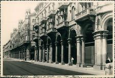 Italie, Turin, Rue Pietro Micca, Août 1949, Vintage silver print Vintage silver