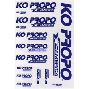 KO Propo America Blue Decal - KOP88803