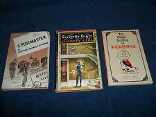 LOT 3  BOOKS GOSPEL ACCORDING PEANUTS 1965-CHARITY GIRL1970 -C/O POSTMASTER 1943