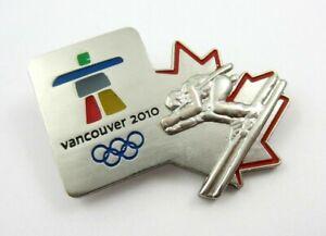 2010 Vancouver Winter Olympics Olympic Skier Skiing VANOC Pin Badge