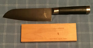 NEW UNUSED Michel Bras #4 Medium Kitchen Knife Made Japan w/ Sheath Laguiole