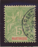 Martinique Stamp Scott #37, Used