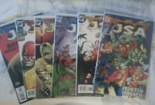 JSA (12) comic book lot featuring Justice Society of America 2002-03 series run