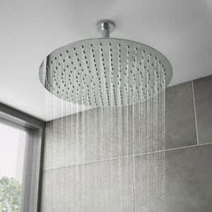 Victoria Plumbing Cruze Large 400mm Ultra Thin Round Shower Head EG-OS-03
