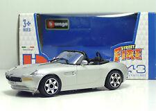"Bburago 30010 BMW Z8 ""Met Silver"" METAL Scala 1:43"