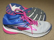 Awesome Brooks Ravenna 8 blue,pink,gray running / tennis shoes - womens 8.5