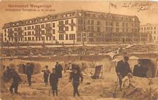 NORDSEEBAD WANGEROOGE ISLAND STRAND HOTEL GERMANY POSTCARD 1912