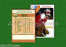 Gary Smith - Washington Capitals - Custom Hockey Card  - 1977-78