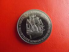 Münze/Medaille 1980 ca.38mm *Konvoyschiff/Helgoland 90.Jahre Deutsch (Schu10)