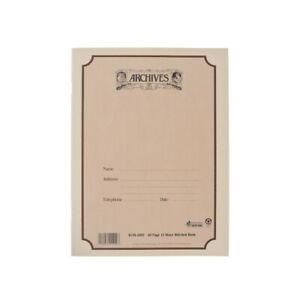 D'Addario B12S-48ST - Cahier manuscrit à reliure standard Archives, 12 portées,