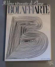 Rivista Bolaffi Arte n.16 anno III - 1972 con in copertina Mario Ceroli