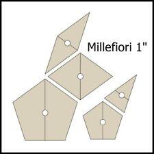 Reusable templates MILLEFIORI (La Passacaglia) KIT 125 shapes