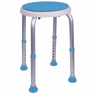 Swivel Shower Stool With Padded Seat Shower Seat For Seniors Elderly Handicap