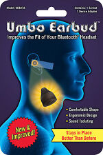 Umbo Earbud for Bluetooth Headset - Best In-Ear Gel Tip Pad Cover Spare Soft Bud