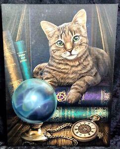 ASTROLOGER CAT CANVAS - BLACK CAT - LISA PARKER - FREE UK POSTAGE