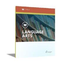 Alpha Omega Lifepac Language Arts 6th Grade Workbooks Set