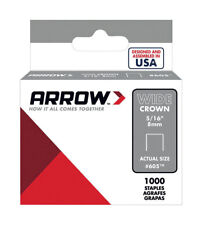 Arrow 605 Wide Crown Swingline Heavy Duty 5/16-Inch Staples, 1,000-Count