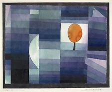 Paul Klee Reproduction: The Harbinger of Autumn - Fine Art Print