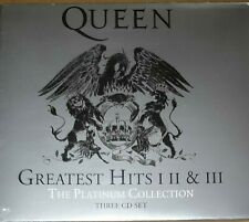 Greatest Hits I II & III: The Platinum Collection di Queen (CD, 2011, 3 Dischi,…