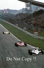 Alan Jones Williams FW07 Winner Dutch Grand Prix 1979 Photograph 2