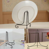 New Iron Easel Rack Bowl Plate Art Photo Picture Frame Holder Book Display Stand