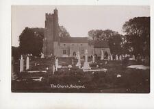 The Church Rochford Essex Vintage RP Postcard 500b