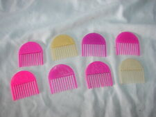 Vintage 1986 Hasbro Doll Jem And The Holograms Band Accessory Lot 8 Hair Combs