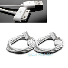 2X 6FT USB TO 30 PIN WHITE CABLE DATA SYNC CHARGER SAMSUNG GALAXY TAB TABLET 7.0