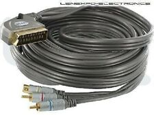 SCART to Component Video Cable 4 meters   12 feet