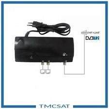 HD-LINE DVB-C / DVB-T Antennenverstärker 25dB Terrestrisch für 2 TV Geräte