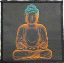 GLOWING BUDDHA - Do your dharma - sweeten your karma! - Printed Patch - Sew On!