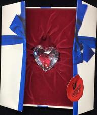 Swarovski Crystal Clear Heart 1996 with Box EXCELLENT CONDITION