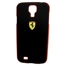 Ferrari Genuine Licensed Galaxy SIV / S4 Cell Phone HardCase - Black Scuderia