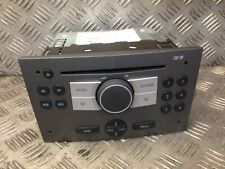 VAUXHALL ASTRA H 2005 MK5 STEREO CD PLAYER HEAD UNIT 13190856