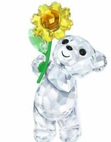 New in Box SWAROVSKI Kris Bear A sunflower for you #5268764