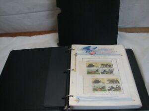White Ace US Commemoratives Stamp Album Liberty Series 1970 - 1972 Mint Block