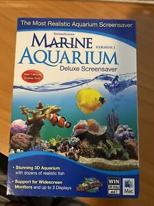 Avanquest Marine Aquarium Deluxe 3,Aqua Marine Screensaver,realistic fish coral