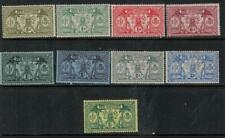 New Hebrides BR 1911 SC 17-25 MLH Set