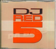 DJ Red 5-poiché Bass 3 TRK CD Maxi