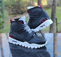 Nike Air Trainer SC 2 Men's Size 7 Sneakerboots Black Red Grey 805891-001