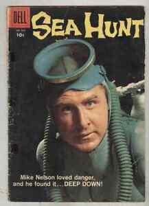 Four Color #928 G/VG 1958 Sea Hunt #1