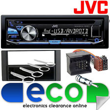 MAX Ford C 2004 - 2010 JVC CD MP3 USB Aux Autoradio Stereo Fascia & kit di montaggio