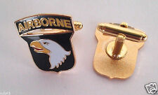101ST AIRBORNE DIVISION US ARMY CUFF LINKS Military Veteran 14651-C HO