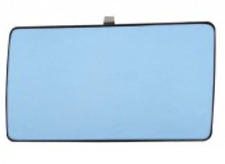 Spiegelglas Außenspiegel Links Flach Blau MERCEDES 190 W201 W124