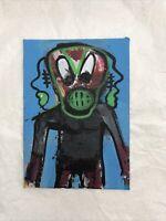 Hasworld Original Signed Painting Abstract Street Art Pop Graffiti Not Basquiat