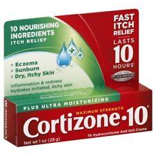 Cortizone 10 Plus Anti-Itch Cream ,1 oz (04 Packs)