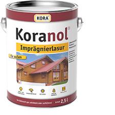 (23,93€/L) Kora Koranol Imprägnierlasur Holzlasur Lasur 750ml