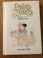 Precious Moments Vintage Christmas Book 1988 Sam Butcher Great Condition