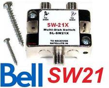BELL TV SW21 SATELLITE SWITCH SW-21 LNB DISH NETWORK