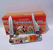 Roy Rogers Pocket Knife Moose in Silver Screen Cowboy Display case